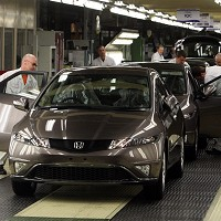 Honda in £267m Swindon investment