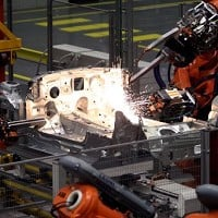 UK car manufacturing output soars