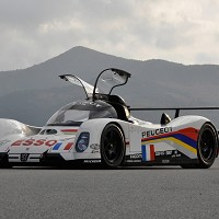 Peugeot 905B on show at Le Mans