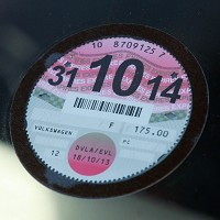 Paper tax disc no longer in use