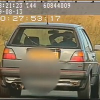 60mph 'hands on head' driver banned