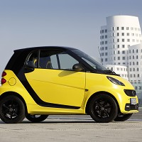 Smart unveils limited edition car