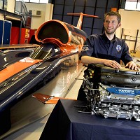 Rocket car to be tested in Cornwall