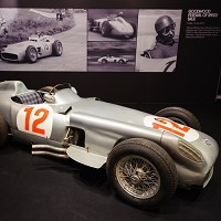 Historic racing car for auction