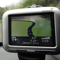 Directions projected on windscreen?
