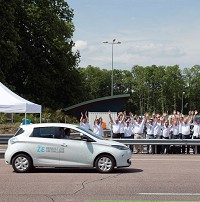 Renault electric car sets record