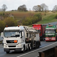 Higher speed limits for lorries