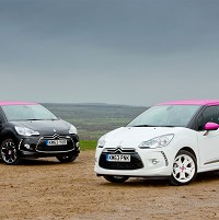 New Citroen DS3s are pink and perky