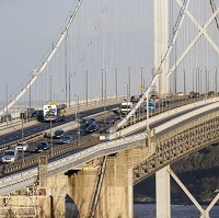 Forth Road Bridge reopens to all but HGVs