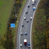 M25 widening projects completed