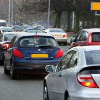 Rise in rush hour road casualties