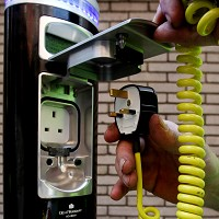 Nissan leads new EV charger network