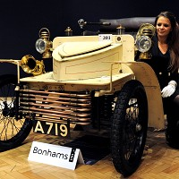 Oldest Vauxhall goes under hammer