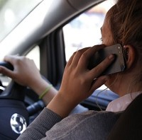 Welsh police target mobile driving