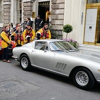 Rare Ferraris to be auctioned for charity