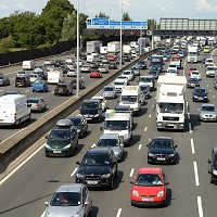 Traffic in Britain hits new high