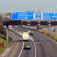 Baby boy born on motorway hard shoulder