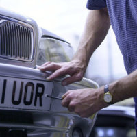 Number plate thefts averaging 56 a day