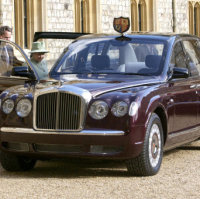 Queen's old Bentley put up for sale