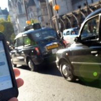 Uber's success hits taxi sector growth
