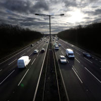 Motorway trials for driverless cars