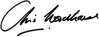 CEO Chris Woodhouse signature