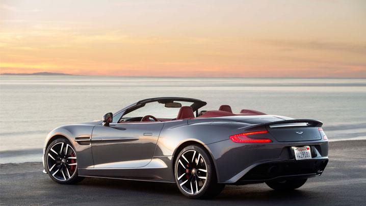 Pictured: Aston Martin V12 Vanquish