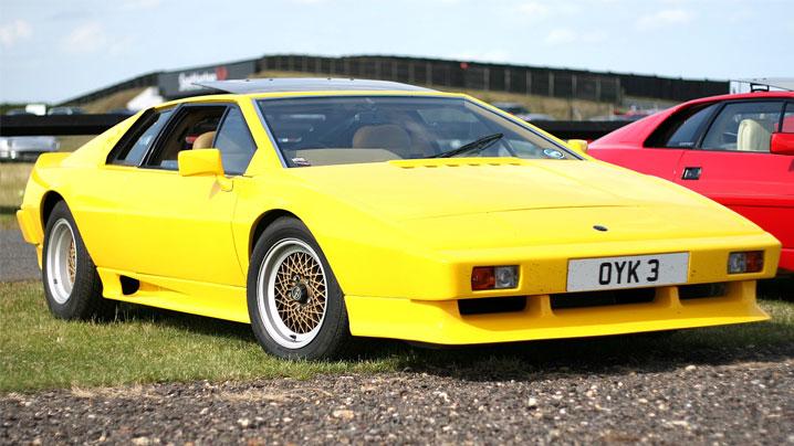 Pictured: Lotus Esprit S1
