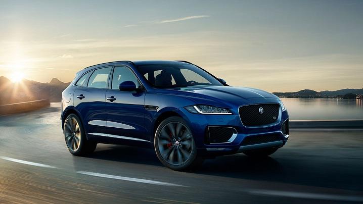 Pictured: Jaguar F-Pace