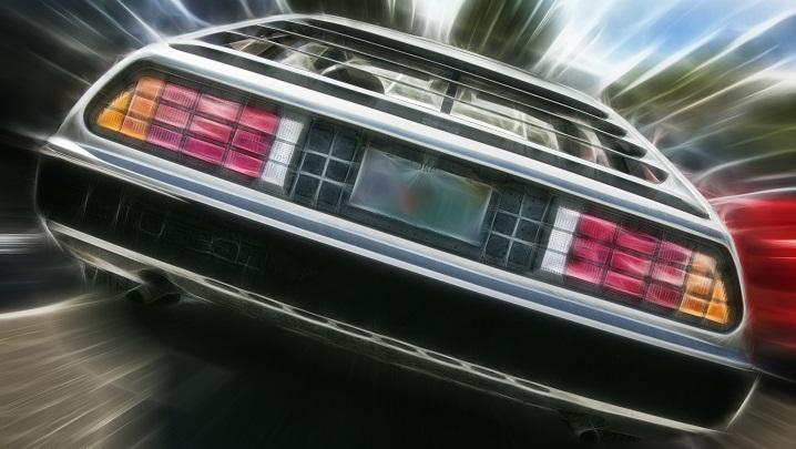 Pictured: DMC DeLorean