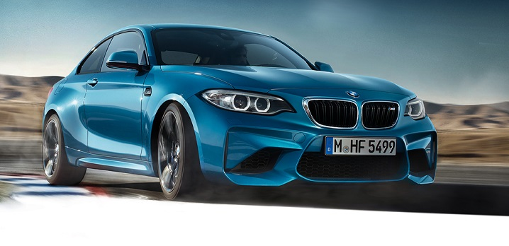 Pictured: BMW M2