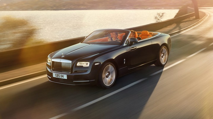 Pictured: Rolls Royce Dawn