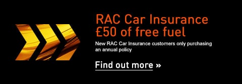 RAC Car Insurance £50 Free Fuel Offer - Find out more