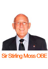 Sir Stirling Moss OBE Headshot