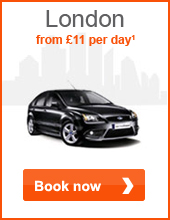 London from £11 per day