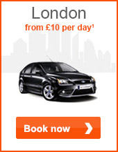 London from £10 per day